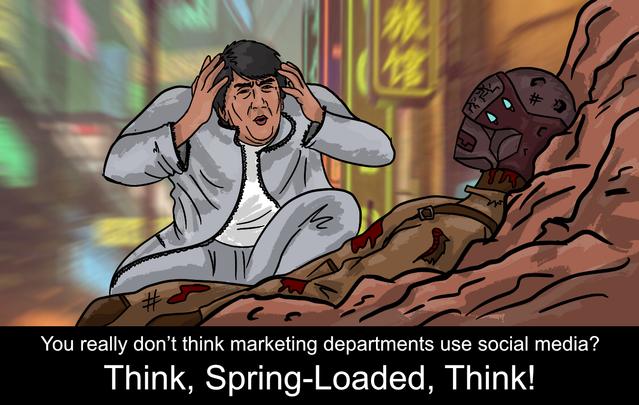 Cười sái quai hàm với loạt ảnh chế theo phong cách meme Think Mark nổi tiếng trong phim Invincible - Ảnh 4.