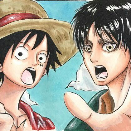 Chỉ sau một đêm, các fan của One Piece bỗng nhiên gọi hồn Eren và sức mạnh Titan trong Attack on Titan - Ảnh 3.
