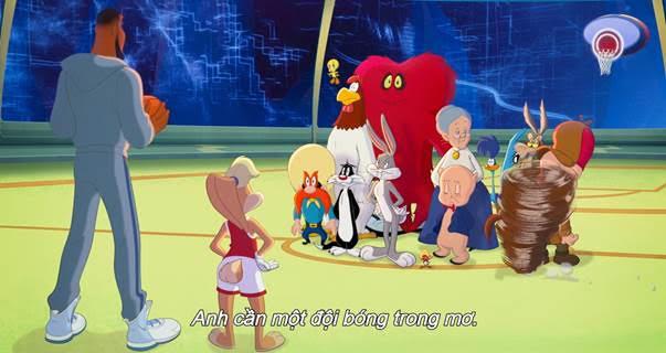 Space Jam: Huyền thoại LeBron James dẫn dắt đội hình toàn sao quyết đấu với các robot biết chơi bóng rổ? - Ảnh 4.