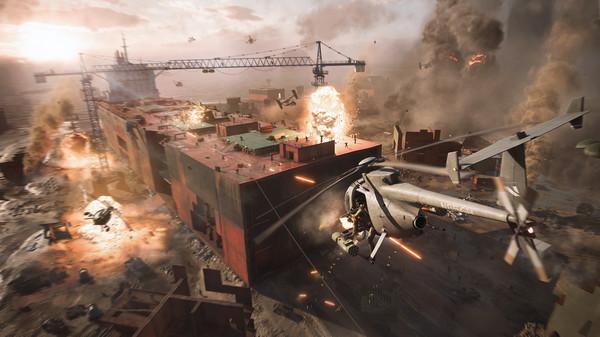 Choáng ngợp với Battlefield 2042, đại cảnh chiến tranh đẹp rợn người - Ảnh 2.