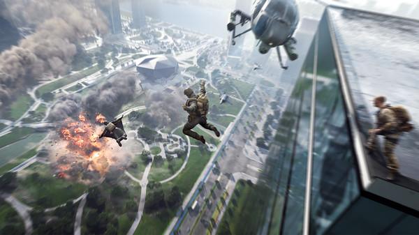 Choáng ngợp với Battlefield 2042, đại cảnh chiến tranh đẹp rợn người - Ảnh 3.