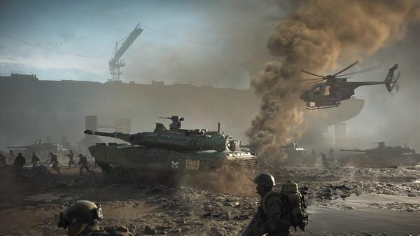 Choáng ngợp với Battlefield 2042, đại cảnh chiến tranh đẹp rợn người - Ảnh 4.