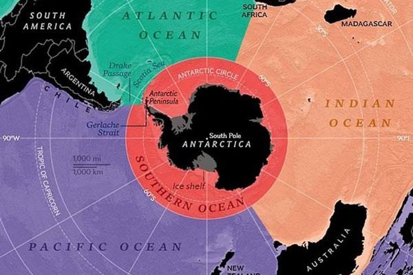 Bất ngờ đại dương thứ 5 chính thức được công nhận - Ảnh 1.