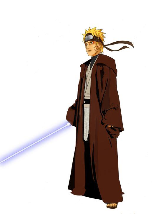 Lạ lẫm khi thấy các ninja trong Naruto tay cầm kiếm ánh sáng theo phong cách Star Wars - Ảnh 10.