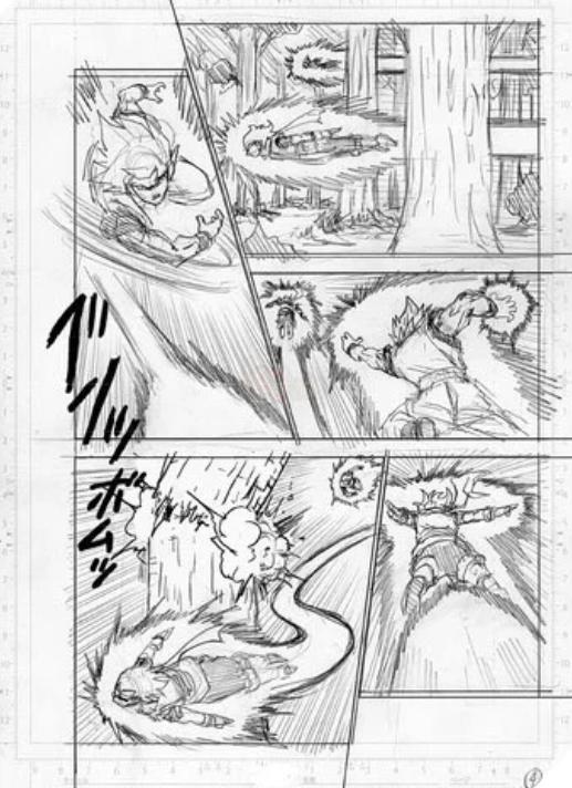 Spoil Dragon Ball Super chap 73: Bảy trang bản thảo cho thấy Granola đang bón hành cực mạnh cho Goku - Ảnh 4.
