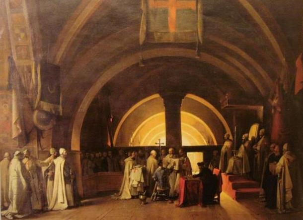 Lời nguyền khủng khiếp của hội Hiệp sĩ dòng Đền Jacques de Molay: Vua Pháp chịu họa tuyệt tự! - Ảnh 2.