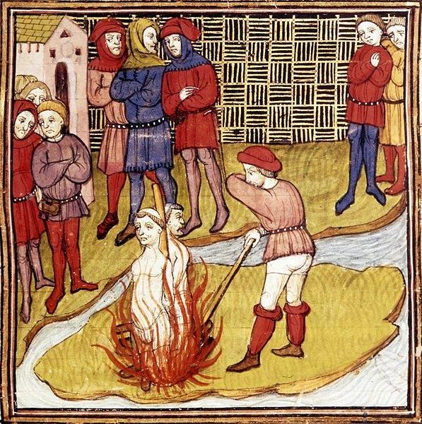 Lời nguyền khủng khiếp của hội Hiệp sĩ dòng Đền Jacques de Molay: Vua Pháp chịu họa tuyệt tự! - Ảnh 3.