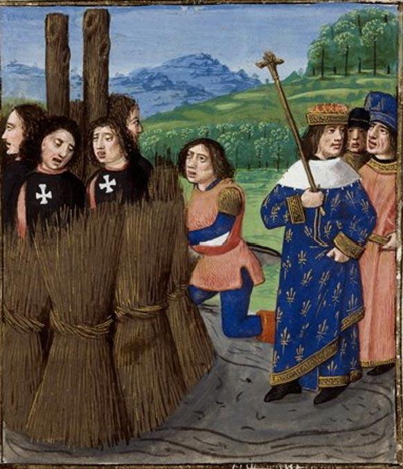 Lời nguyền khủng khiếp của hội Hiệp sĩ dòng Đền Jacques de Molay: Vua Pháp chịu họa tuyệt tự! - Ảnh 4.