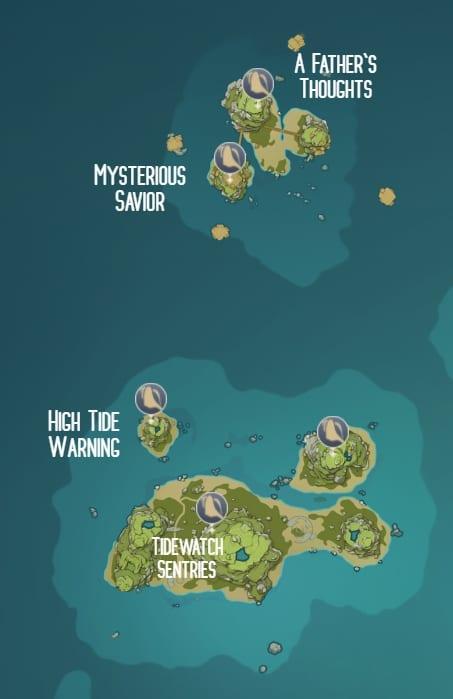 Genshin Impact Âm Thanh Vang Vọng: Vị trí chi tiết của ốc biển mà người chơi có thể thu thập - Ảnh 6.