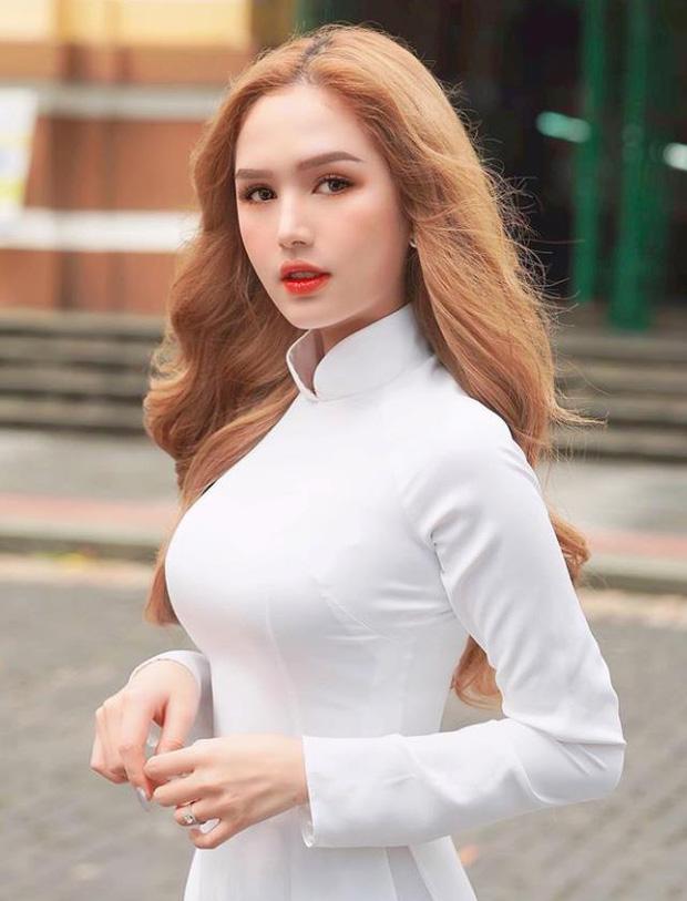 """Đọ sắc trong tà áo dài trắng tinh khôi, các hot girl Esports hoá """"nàng thơ trong sáng - Ảnh 13."""