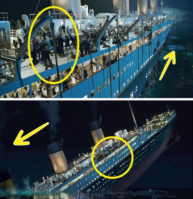 7 lỗi sai của Titanic từ siêu nhỏ cho tới chống lại cả vật lý, nhìn mà tưởng ma ám cả con tàu! - Ảnh 6.