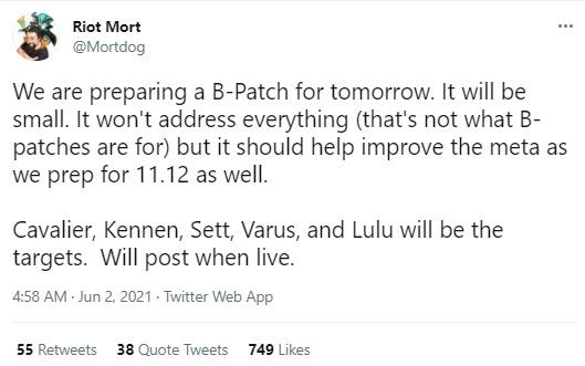 Đấu Trường Chân Lý: Không cần đợi bản 11.12, Riot ngay lập tức xuống tay với meta Kỵ Sỹ - Ảnh 2.