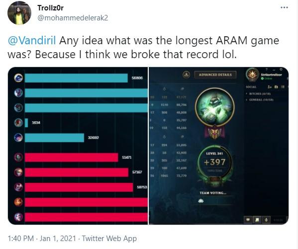 LMHT: Kỷ lục về trận ARAM dài nhất lịch sử đã được xác lập với thời gian thi đấu là 2 tiếng 47 phút - Ảnh 7.