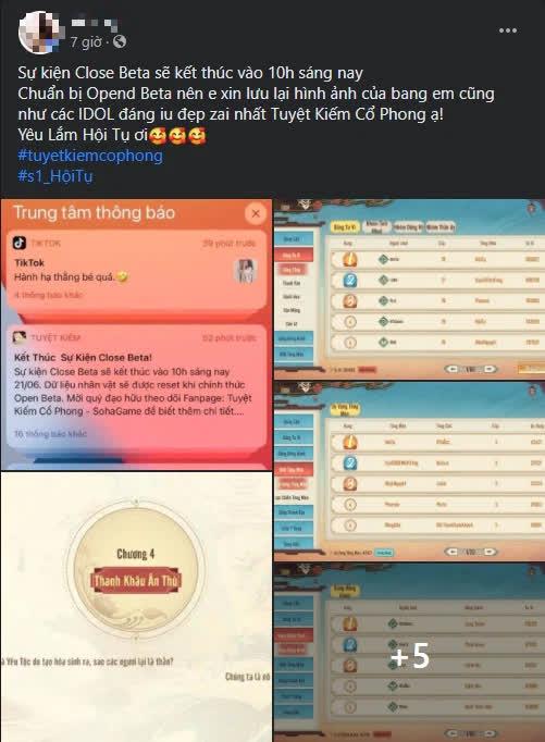Bom tấn của năm Tuyệt Kiếm Cổ Phong closed beta quá thành công, chính thức Open Beta ngày 24/6 cùng loạt sự kiện siêu hot! - Ảnh 7.