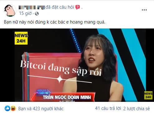 Cô gái đòi bạn trai chi tiền đi đầu tư tiền ảo nói một câu chí mạng khiến dân Bitcoin hoang mang tột độ - Ảnh 3.
