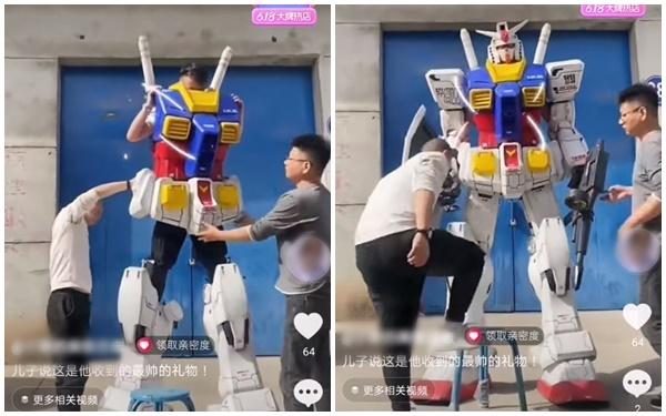 Xuất hiện bộ giáp mô phỏng Gundam phiên bản đời thực, người thường có thể mặc vào là hóa robot như trong phim - Ảnh 3.