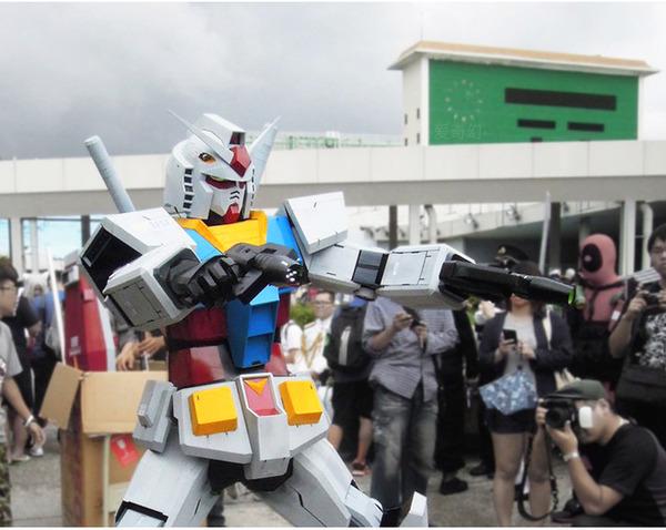 Xuất hiện bộ giáp mô phỏng Gundam phiên bản đời thực, người thường có thể mặc vào là hóa robot như trong phim - Ảnh 1.