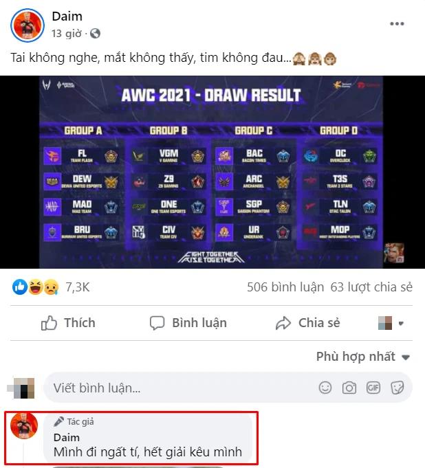 Nhận kết quả chia bảng đấu AWC 2021, fan của Team Flash xui ProE kiếm người yêu gấp! - Ảnh 2.