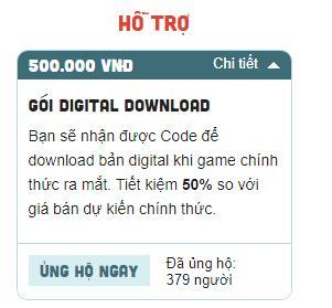 Hiker Games chính thức hé lộ giá bán gói donate từng phiên bản của tựa game 300475, bản rẻ nhất là 1.000.000 VND - Ảnh 2.