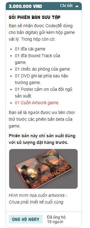 Hiker Games chính thức hé lộ giá bán gói donate từng phiên bản của tựa game 300475, bản rẻ nhất là 1.000.000 VND - Ảnh 5.
