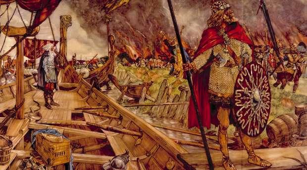 Truyền thuyết về người anh hùng Beowulf trong sử thi cổ của nước Anh - Ảnh 1.
