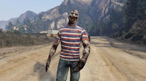 Zombie, Slender Man và những skin rùng rợn nhất của GTA mà các game thủ từng tạo ra trong quá khứ - Ảnh 5.