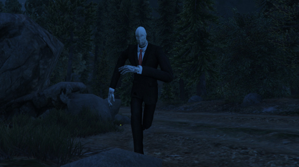 Zombie, Slender Man và những skin rùng rợn nhất của GTA mà các game thủ từng tạo ra trong quá khứ - Ảnh 7.