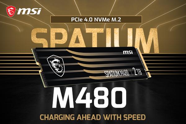 MSI ra mắt mẫu ổ cứng SSD mới với dòng sản phẩm SPATIUM - Ảnh 1.