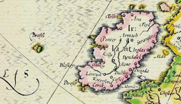 Hy-Brasil: Hòn đảo ma trong truyền thuyết và điểm tọa độ UFO kỳ bí được viết bằng mã nhị phân - Ảnh 2.