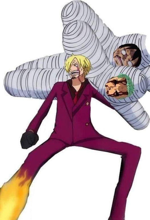 Cuối tuần cười bể bụng với loạt ảnh chế One Piece, thế mới thấy các fan bắt trend rất nhanh - Ảnh 19.