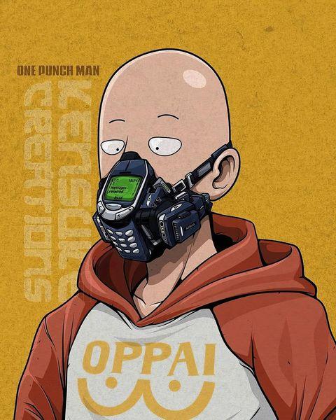 Mê mẩn những chiếc mặt nạ máy móc của dàn nhân vật anime, cảm giác vừa ngầu vừa an toàn - Ảnh 1.