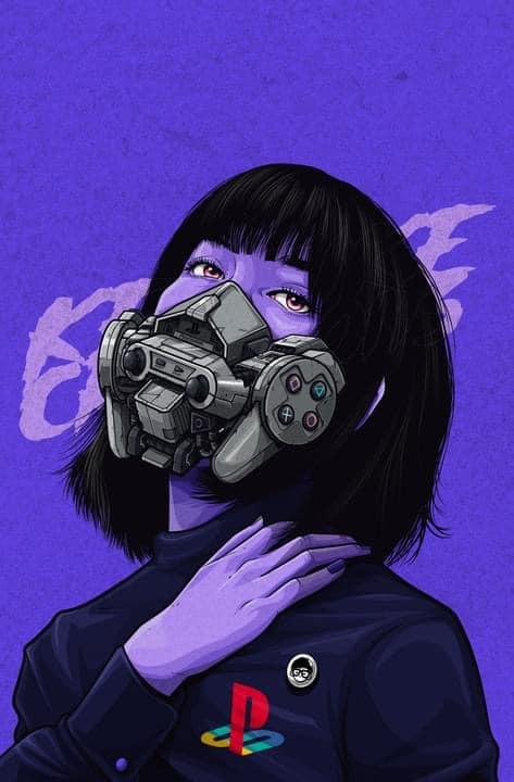 Mê mẩn những chiếc mặt nạ máy móc của dàn nhân vật anime, cảm giác vừa ngầu vừa an toàn - Ảnh 9.
