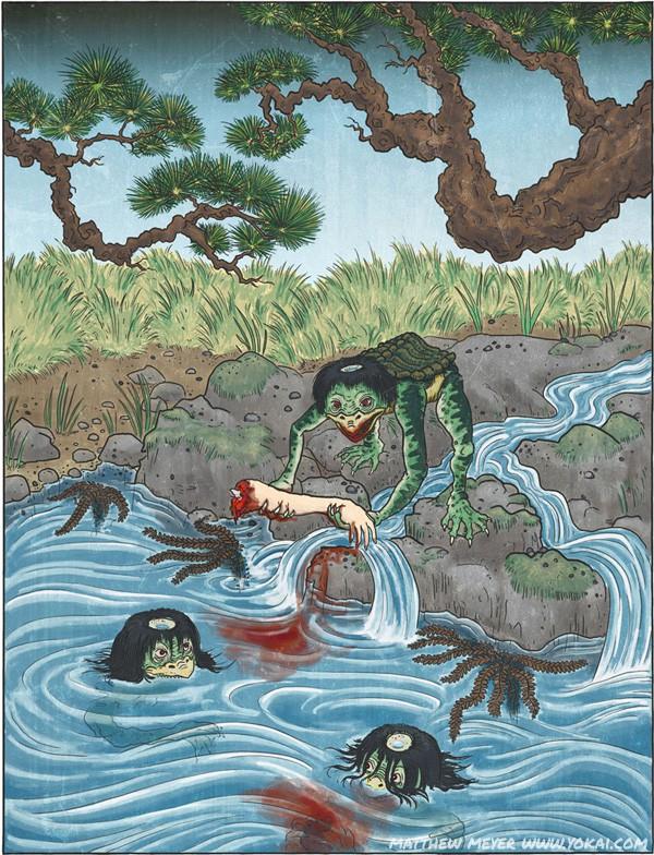 Những điều chưa biết về Kappa, loài thủy quái kỳ quặc trong truyền thuyết Nhật Bản - Ảnh 1.