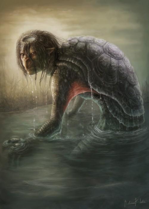 Những điều chưa biết về Kappa, loài thủy quái kỳ quặc trong truyền thuyết Nhật Bản - Ảnh 2.