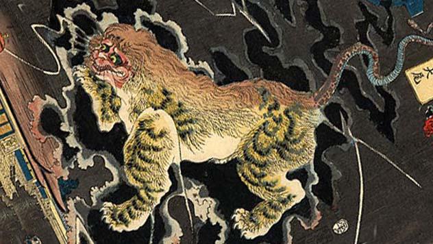 Những loài quái vật kỳ quái trong truyền thuyết châu Á - Ảnh 1.