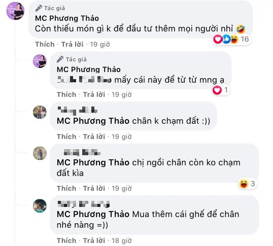 """Đăng hình góc livestream, chiếc ghế gaming """"phản chủ, lộ điều bí mật mà MC Phương Thảo muốn che giấu - Ảnh 3."""