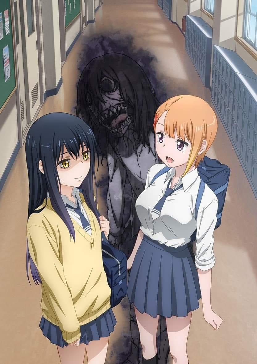 Cộng đồng hâm mộ anime háo hức với trailer mới của Mieruko-chan, phim ma nhưng lại siêu hài hước - Ảnh 6.