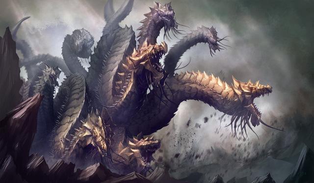 Những con quái vật rắn nổi tiếng trong thần thoại Hy Lạp - Ảnh 1.