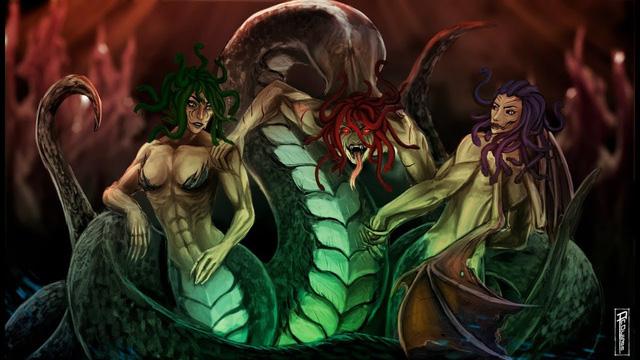 Những con quái vật rắn nổi tiếng trong thần thoại Hy Lạp - Ảnh 4.