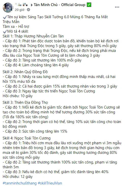Siêu phẩm made in Vietnam chơi trội kỉ niệm 6 tháng ra mắt: Cho game thủ tự sáng tạo skill tướng, xuất hiện ngay bản update tiếp theo! - Ảnh 10.