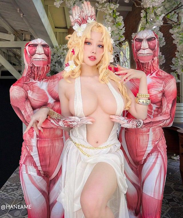 Không thể rời mắt với loạt ảnh cosplay nữ thần Aphrodite tâm hồn siêu to trong Record Of Ragnarok - Ảnh 4.