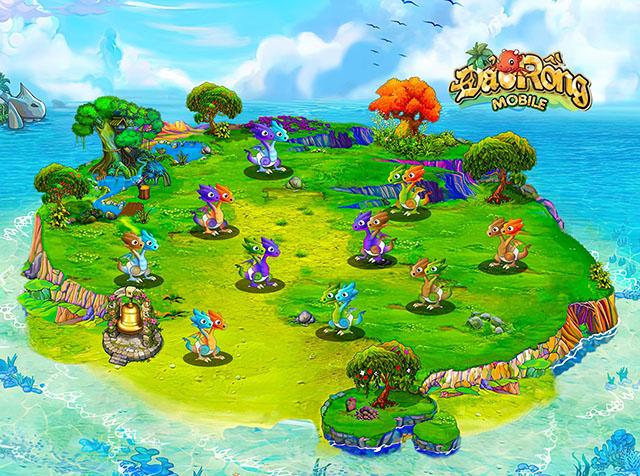 Nóng! Đảo Rồng Mobile, thêm một huyền thoại tuổi thơ tái sinh từ bàn tay người Việt chính thức ra mắt - Ảnh 2.