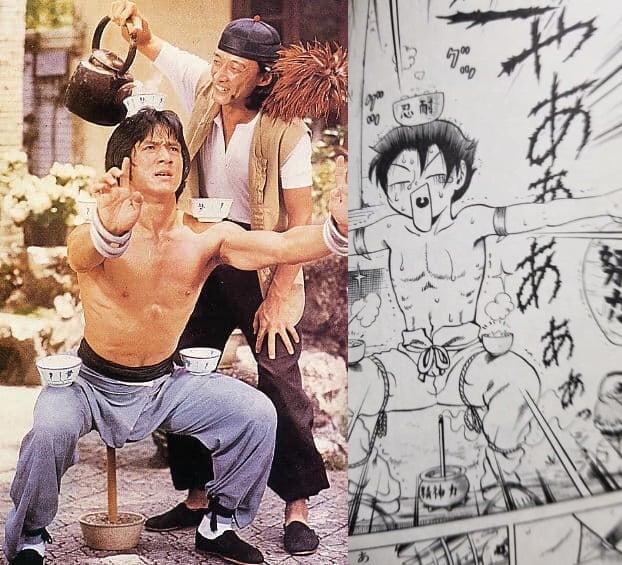 Thành Long không chỉ là biểu tượng võ thuật Trung Hoa mà còn là cảm hứng sáng tác cho nhiều mangaka nổi tiếng - Ảnh 3.
