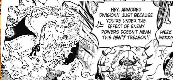 Soi những chi tiết thú vị trong One Piece chap 1019: Quá khứ ẩn giấu của Sasaki sẽ được hé lộ? (P.1) - Ảnh 2.
