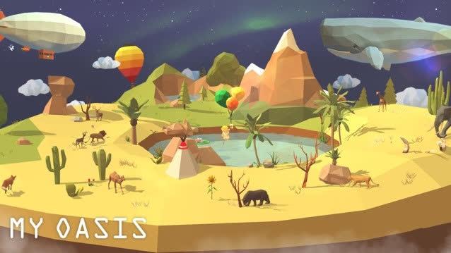 Xả stress mùa dịch với tựa game xây đảo My Oasis trên điện thoại ngay hôm nay - Ảnh 1.