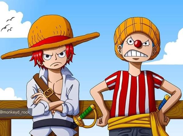 One Piece: Không chỉ là thành viên của băng Roger, cả Shanks và Buggy đều có mối liên hệ mật thiết với băng hải tặc Rocks? - Ảnh 3.
