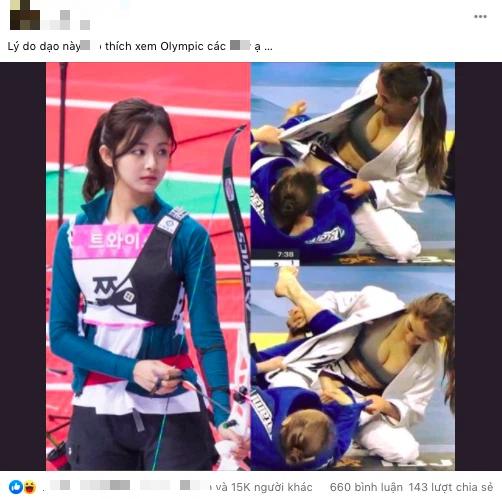 """Nữ VĐV lộ vòng 1 trên sàn đấu chưa phải """"nóng"""" nhất, dàn hot girl đang """"đốt cháy Olympic Tokyo gồm những ai? - Ảnh 1."""