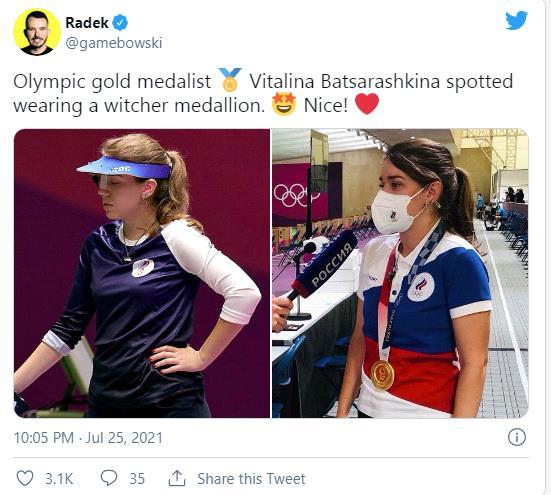Nữ vận động viên khiến game thủ phát sốt khi đeo vòng The Witcher tại Olympic Tokyo - Ảnh 6.