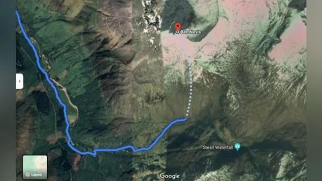 Google Maps chỉ đường đi nguy hiểm chết người cho người leo núi - Ảnh 1.