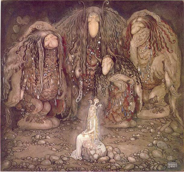 Những sinh vật kỳ bí, quỷ quyết và đầy mê hoặc trong thần thoại Bắc Âu - Ảnh 4.